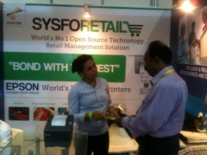 Pinky Gandhi, Head-Retail Practice, Sysfore at IRF 2012