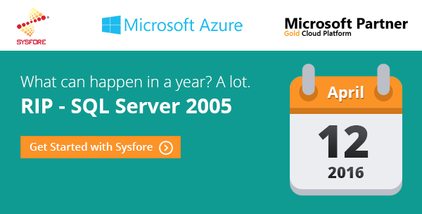 MS SQL-Server-2005 End Of Support