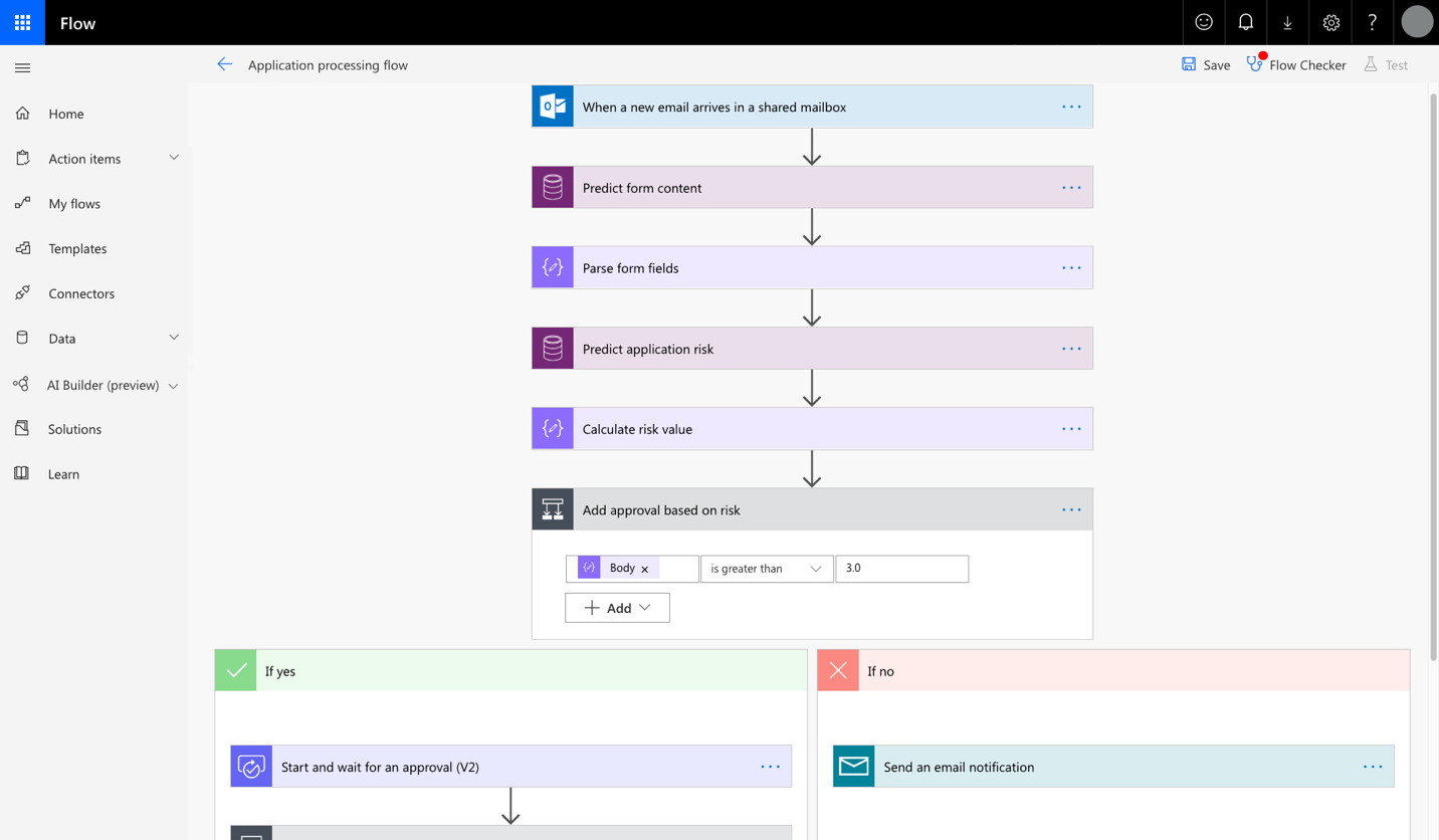 Microsoft Flow for Retail